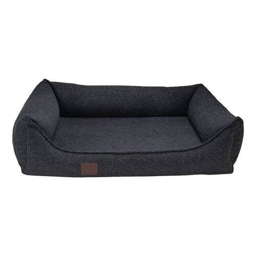 orthopedic dog bed Tessa, Easy Clean woven fabric, Colour Dunkelgrau
