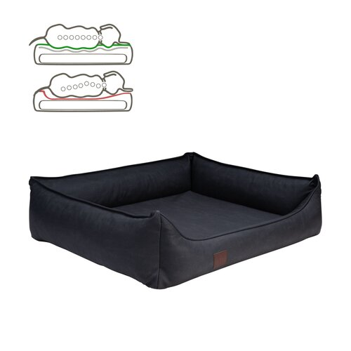orthopedic dog bed Rocco, leatherette very sturdy, Colour... Zweites Bild