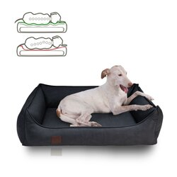 orthopedic dog bed Rocco, leatherette very sturdy, Colour...