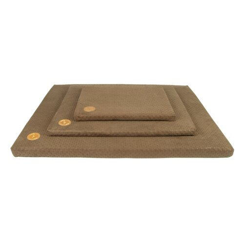 Dog mat HUGO orthopedic - Edition Doggyfit by LaurenDesign, Colour Bronzefarbener Structural fabric
