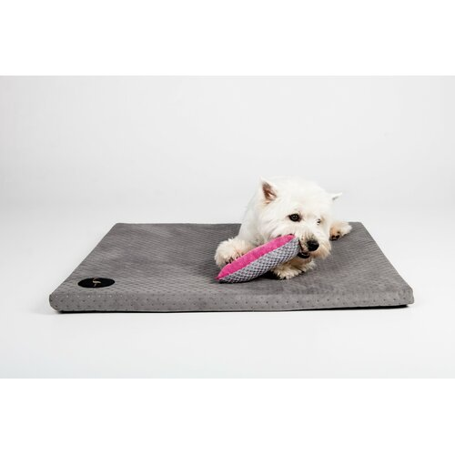 Dog mat HUGO orthopedic - Edition Doggyfit by LaurenDesign, Colour Grauer Structural fabric