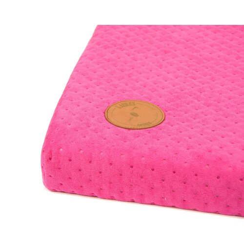 Dog mat HUGO orthopedic - Edition Doggyfit by LaurenDesign, Colour Rose Structural fabric